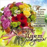 София открытки с музыкой день рождения