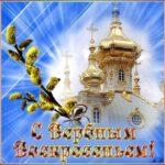 Открытки вербное воскресенье праздник